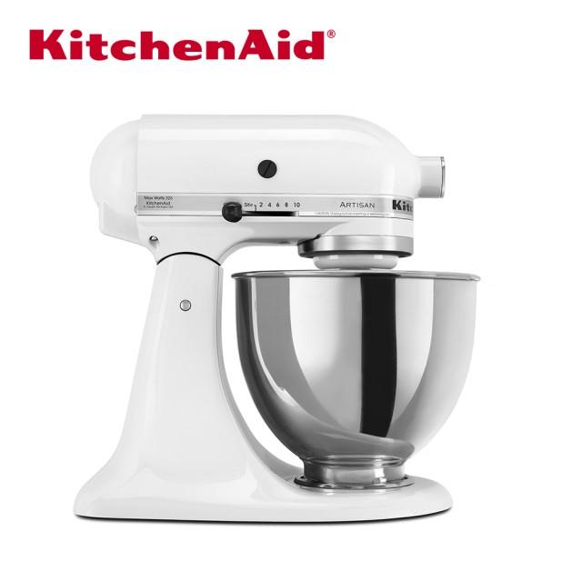 KitchenAid 4.3公升/4.5Q桌上型攪拌機(牛奶白)