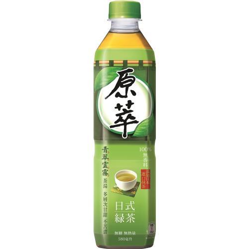 原萃 日式綠茶 寶特瓶 580mL (24入)