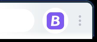 紫色狀態表示支援當前購物網站